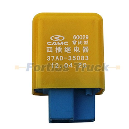 CAMC Truck parts Four plug normally closed relay 37AD-35083