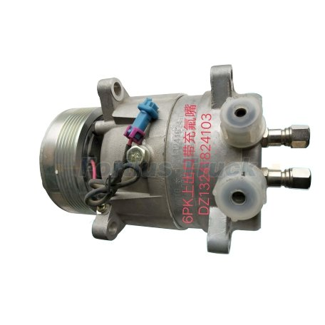 Shacman Truck Parts Air Condition Compressor DZ13241824103