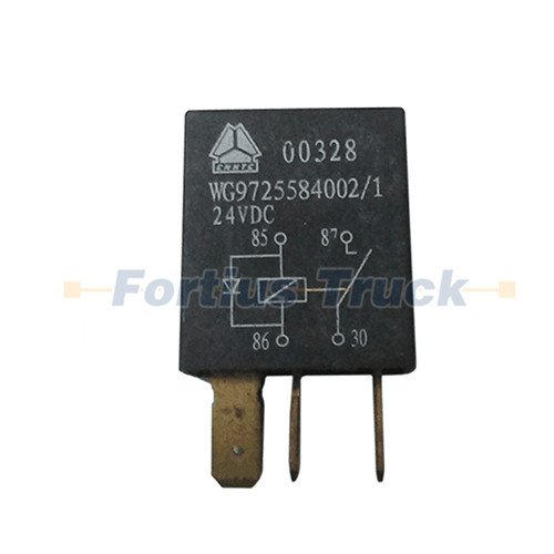 20A normally open relay WG9725584002 for SINOTRUK HOWO Truck parts