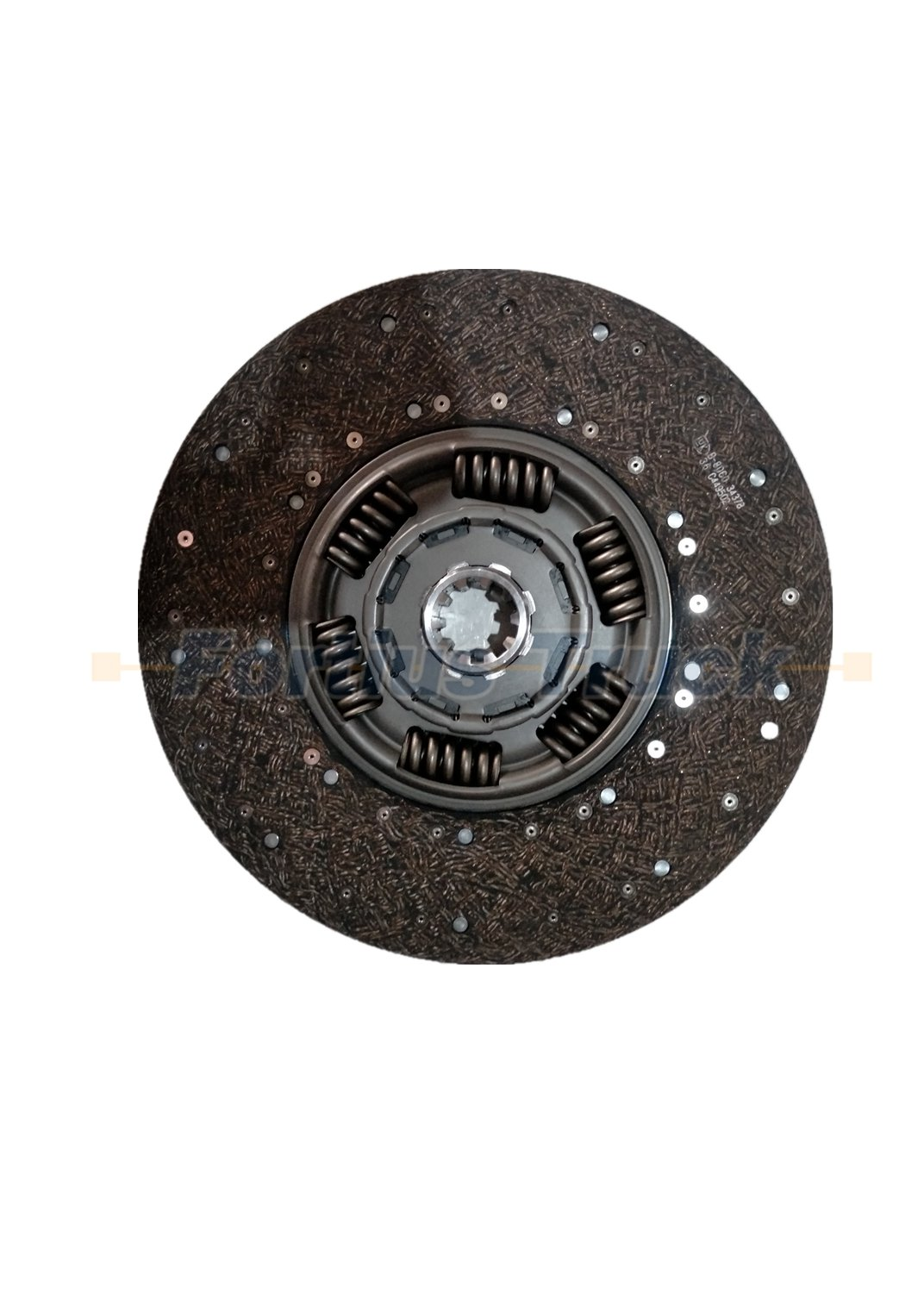 Shacman truck parts clutch disc DZ91189160210