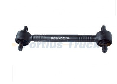 Shacman spare parts truck thrust rod DZ91259525274
