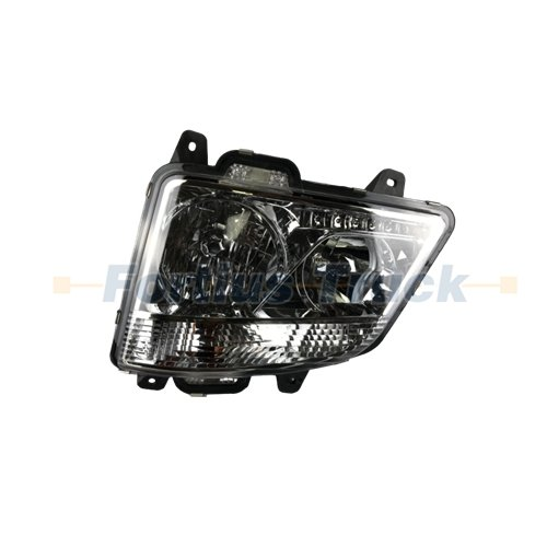 FAW J6H Lamp parts headlight assembly left 3711015-1063