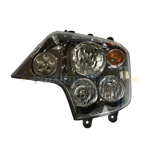 Sinotruk spare parts headlight assembly WG9925720061