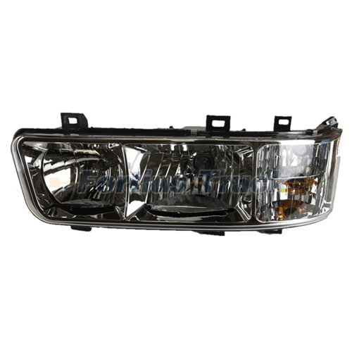 Sinotruk golden prince spare parts right headlight assembly WG9125720002