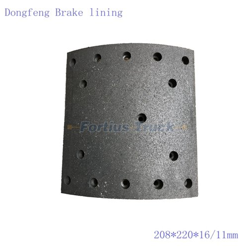 Dongfeng Tianlong 13T Rear Brake lining(14Hole)